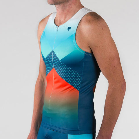 Venture Triathlon Top - Sleeveless Niagara