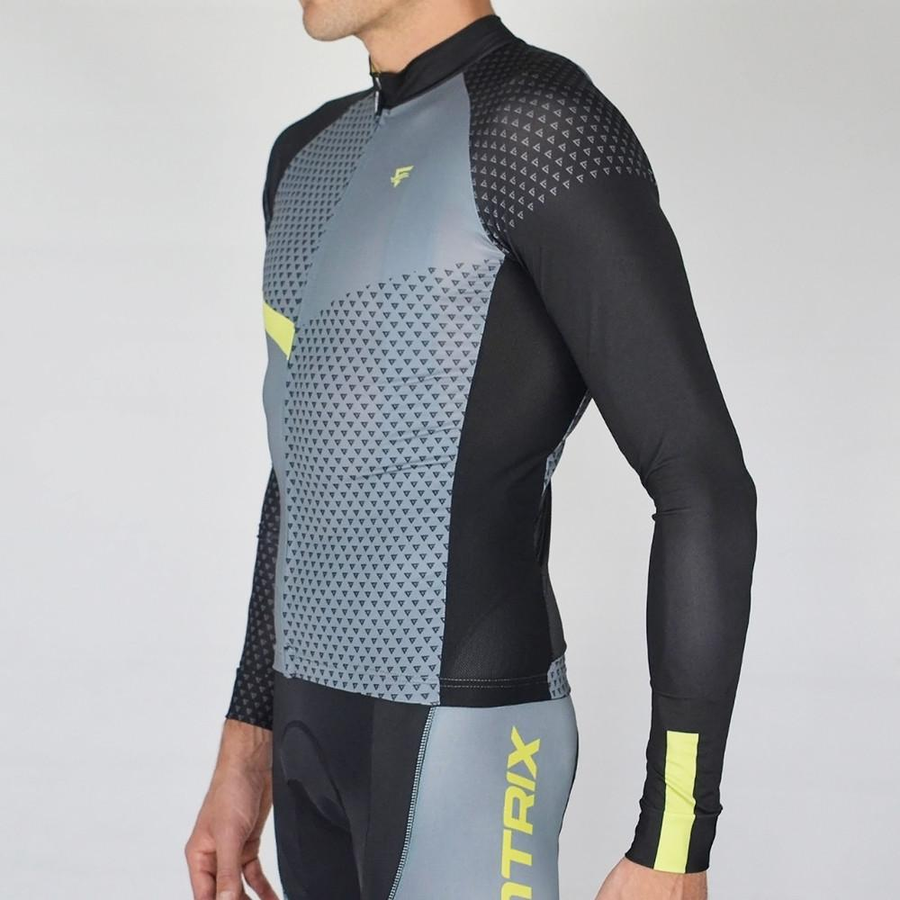 Venture Cycling Long Sleeve Wild Lime - ENTRIX
