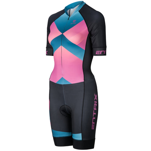 Women Momentum Triathlon Top - Elbow Sleeve