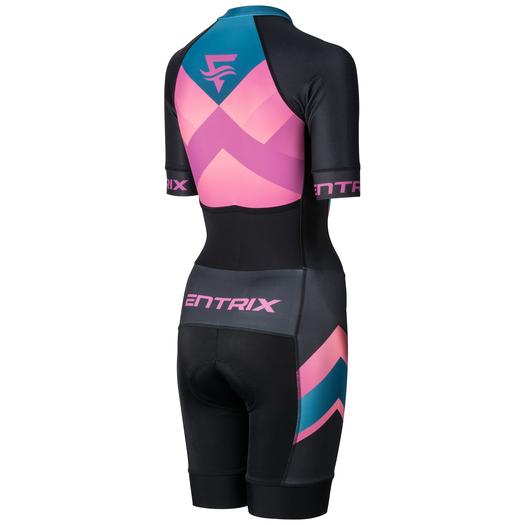 Momentum Evo Triathlon Suit Womens - Elbow Sleeve - ENTRIX
