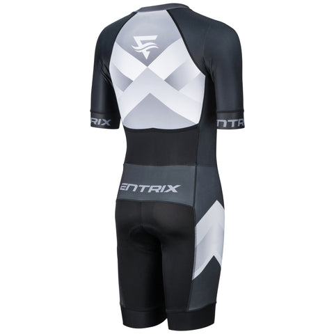 Mens Momentum Evo Triathlon Suit - Elbow Sleeves - ENTRIX