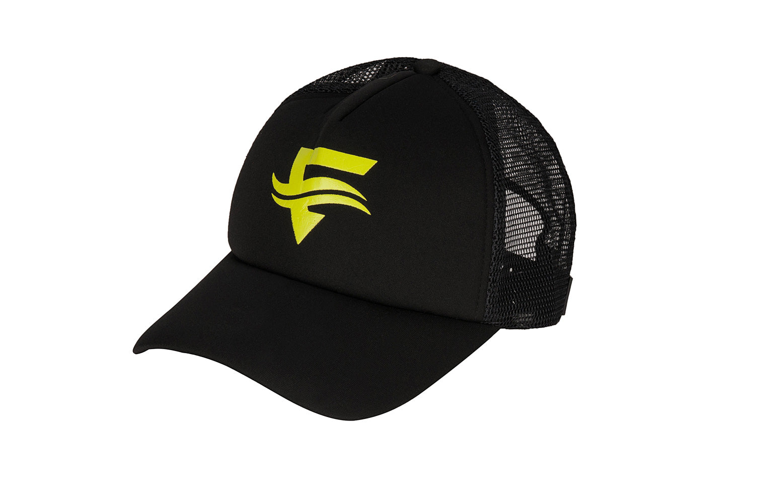 Icon Trucker Cap - Yellow Logo - ENTRIX