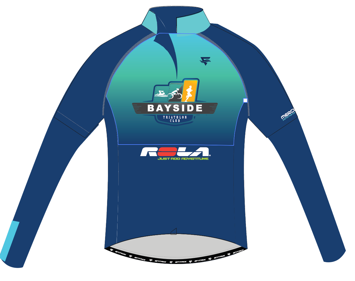 Cycling Jersey Long Sleeve Mens - BTC - ENTRIX