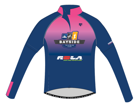 Cycling Jersey Long Sleeve Womens - BTC - ENTRIX