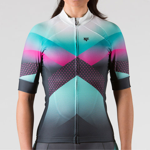 Venture Cycling Bib-Short Peach