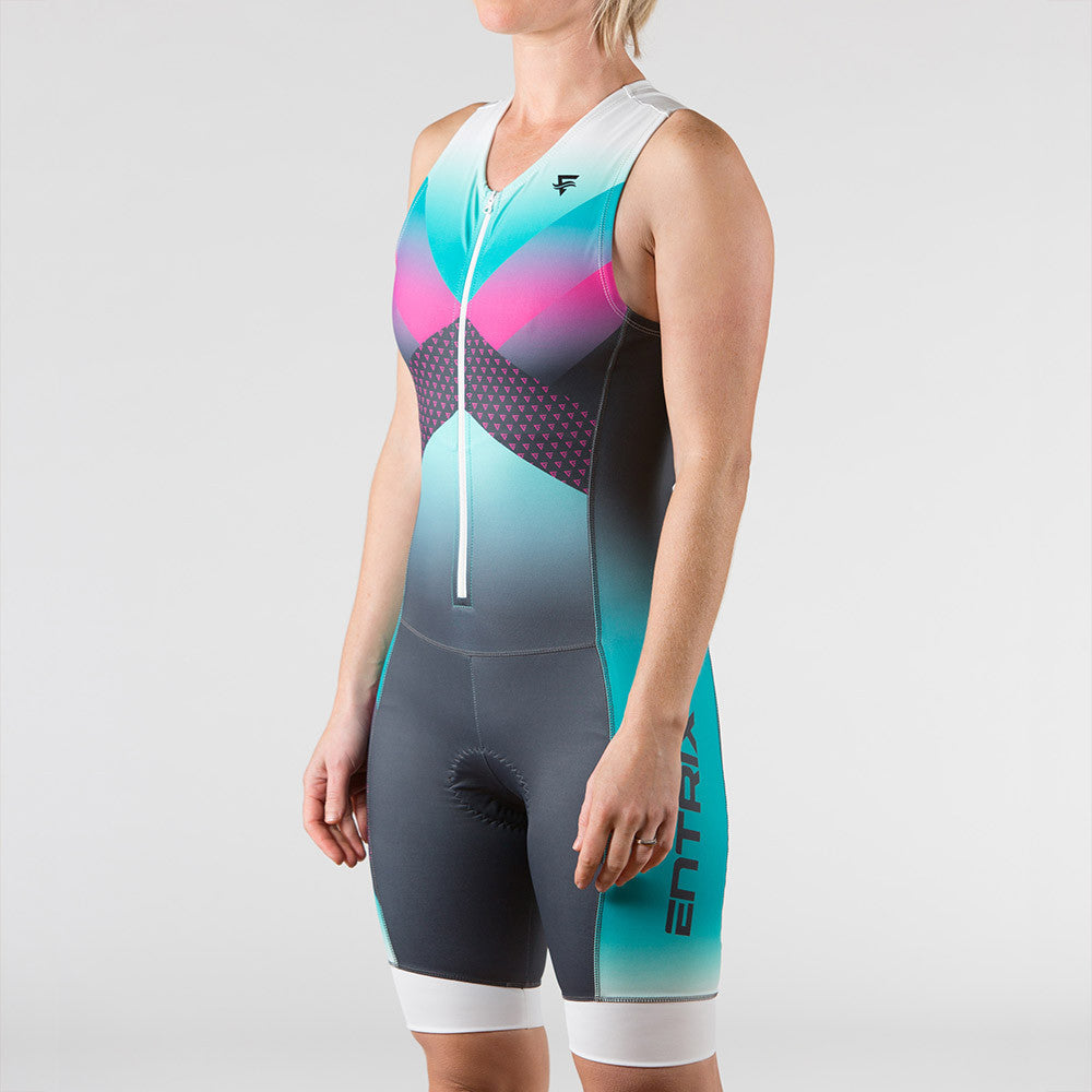 Momentum Triathlon Suit Womens - Sleeveless - ENTRIX