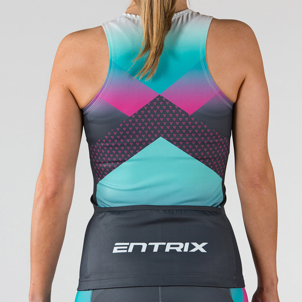 Momentum Triathlon Top Womens - Sleeveless - ENTRIX