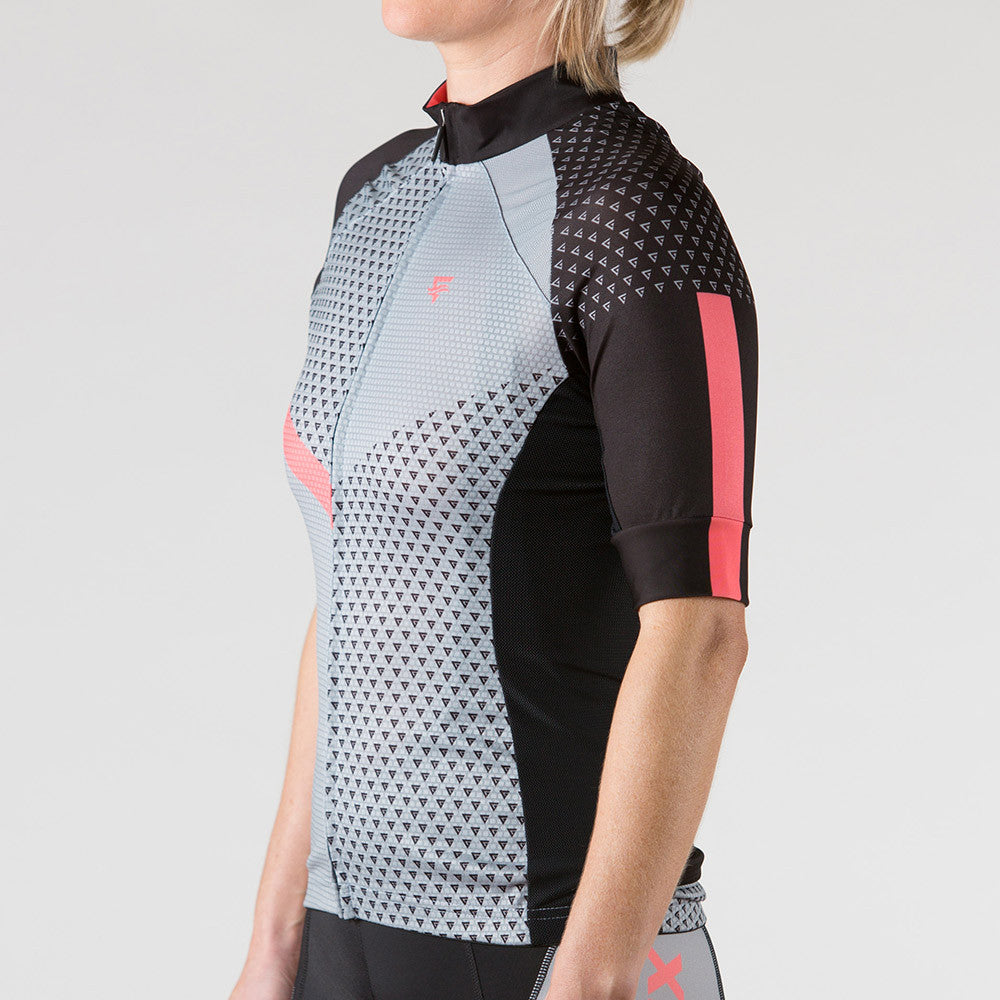 Venture Cycling Jersey Peach - ENTRIX