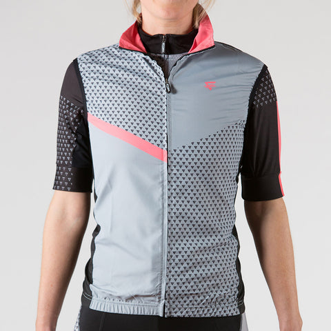 Venture Cycling Wind Vest Peach - ENTRIX