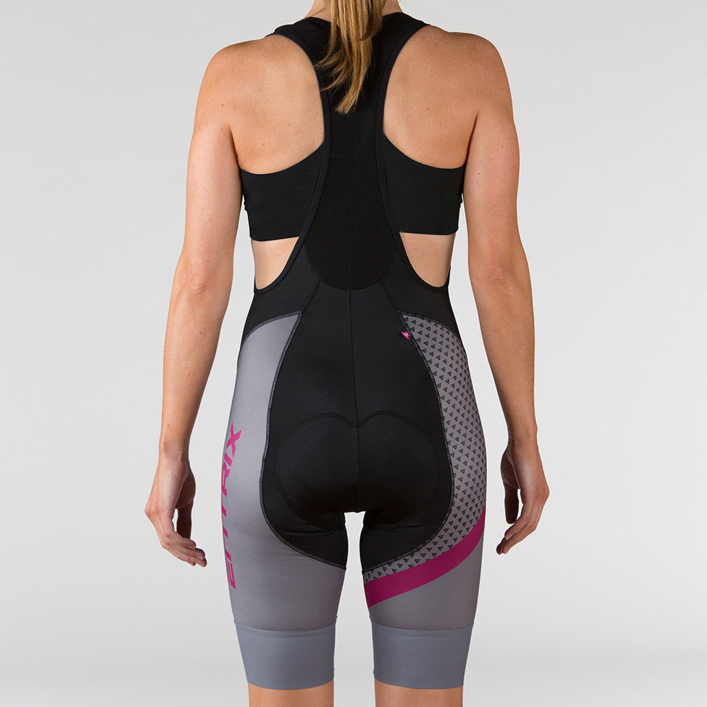Venture Cycling Bib-Short Berry - ENTRIX