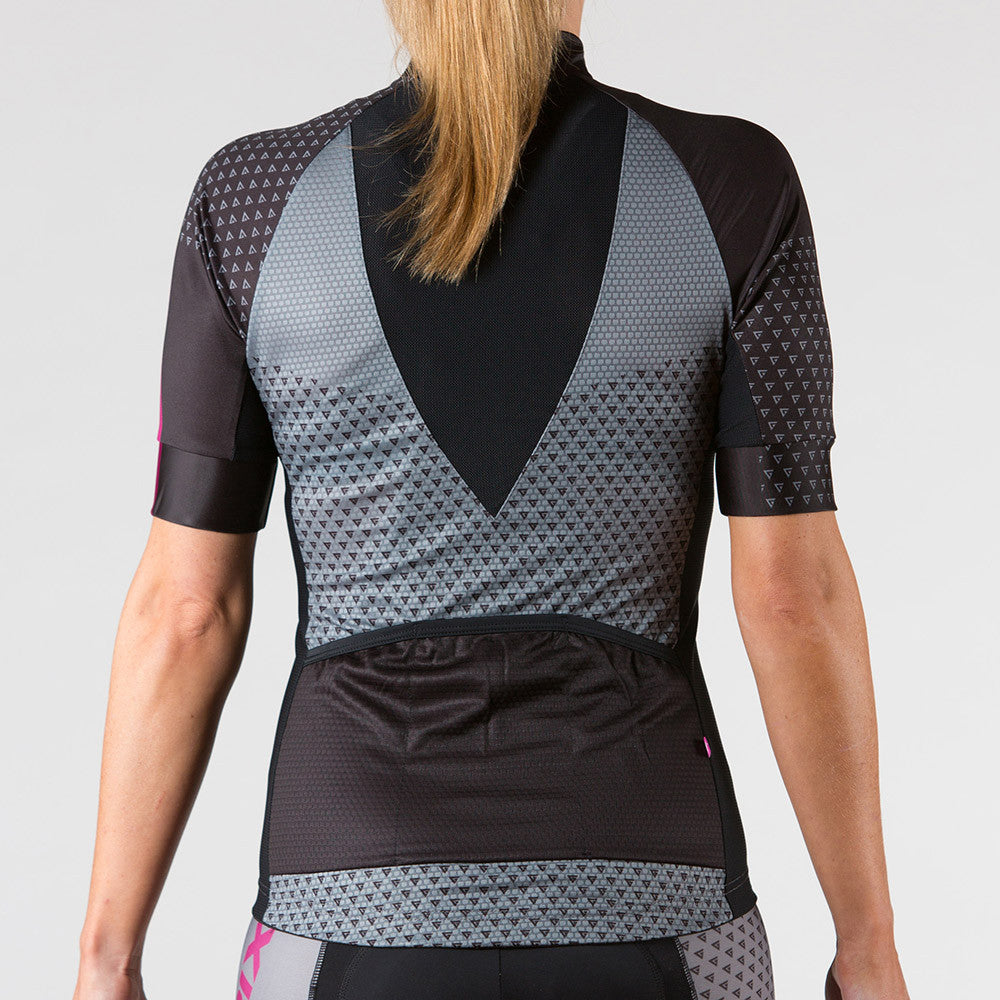 Venture Cycling Jersey Berry - ENTRIX