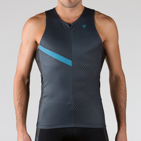Venture Triathlon Top - Sleeveless Niagara - ENTRIX