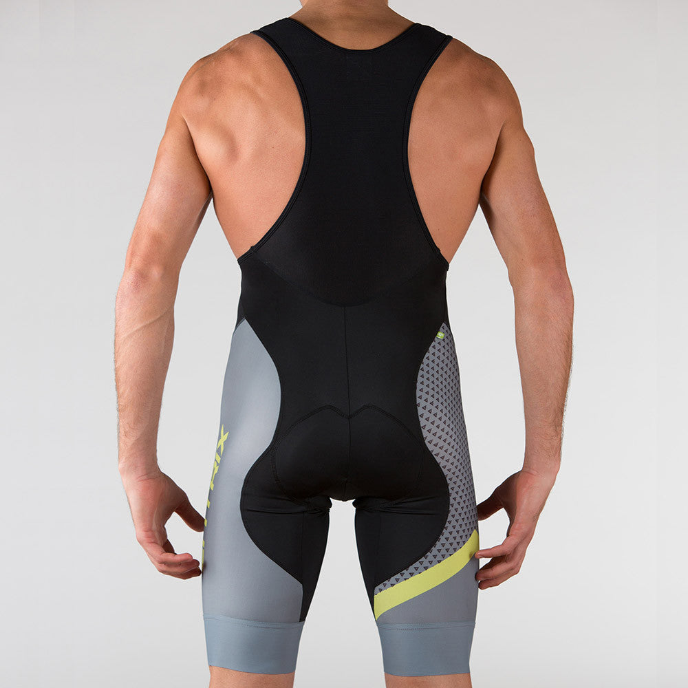 Venture Cycling Bib-Short Wild Lime - ENTRIX