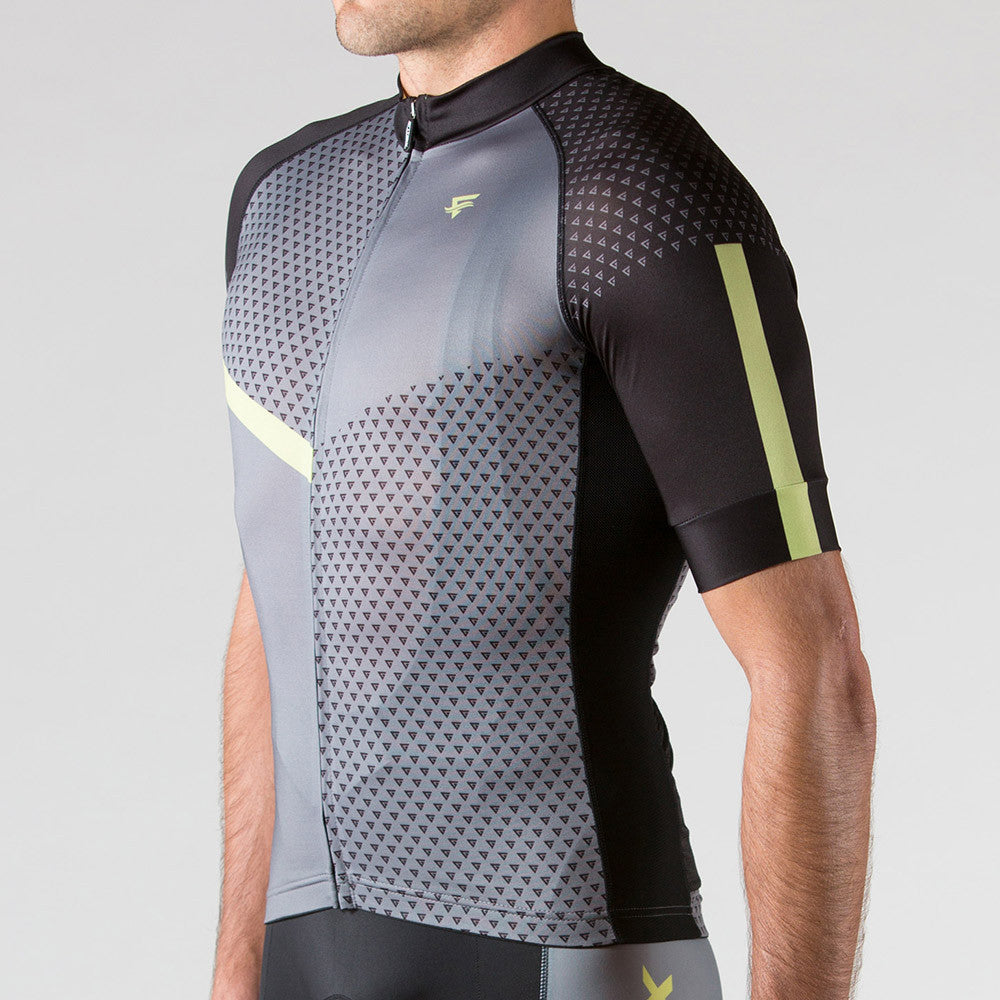 Venture Cycling Jersey Wild Lime - ENTRIX