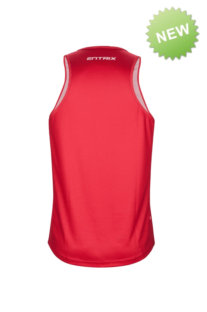 Mens Pro Run singlet - ENTRIX