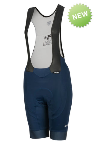 Pro Cycling Bib-Short Womens - Navy Blue - ENTRIX