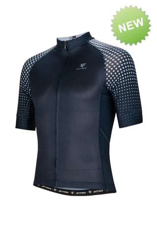Pure Cycling Jersey Mens - Navy Blue - ENTRIX
