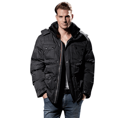 Ardo Fur Hooded Jacket - Umension