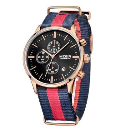 Black Nautical Deluxe Watch - Umension