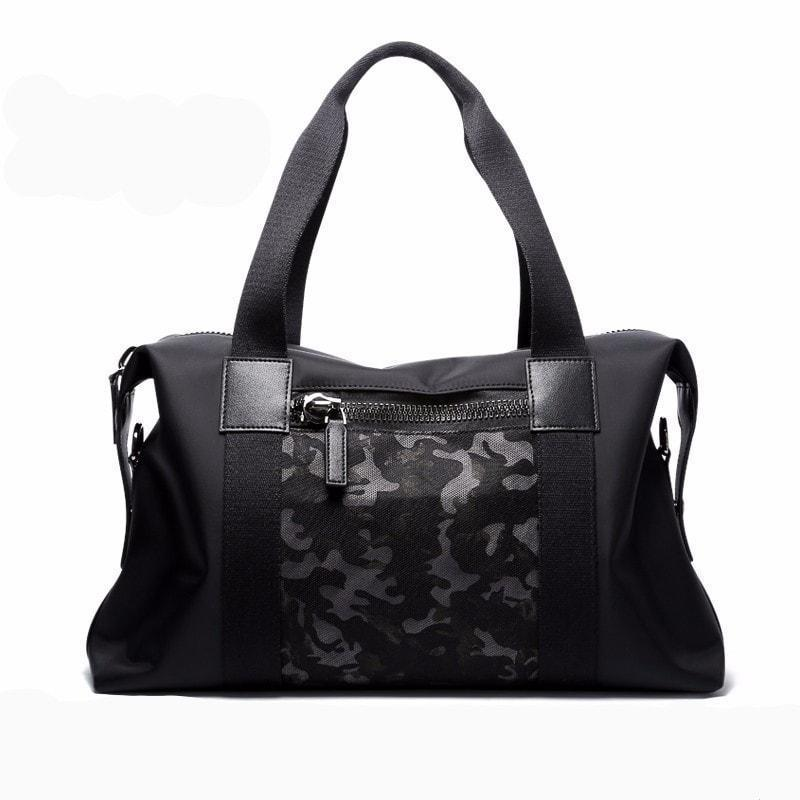 Camouflage Patched Weekender Bag - Umension