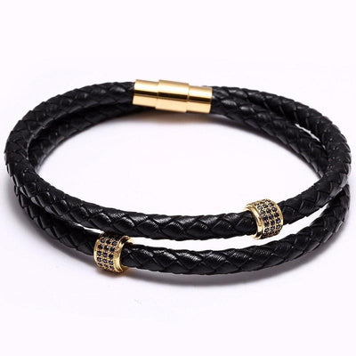 Chandeau Deluxe Leather Bracelet - Umension