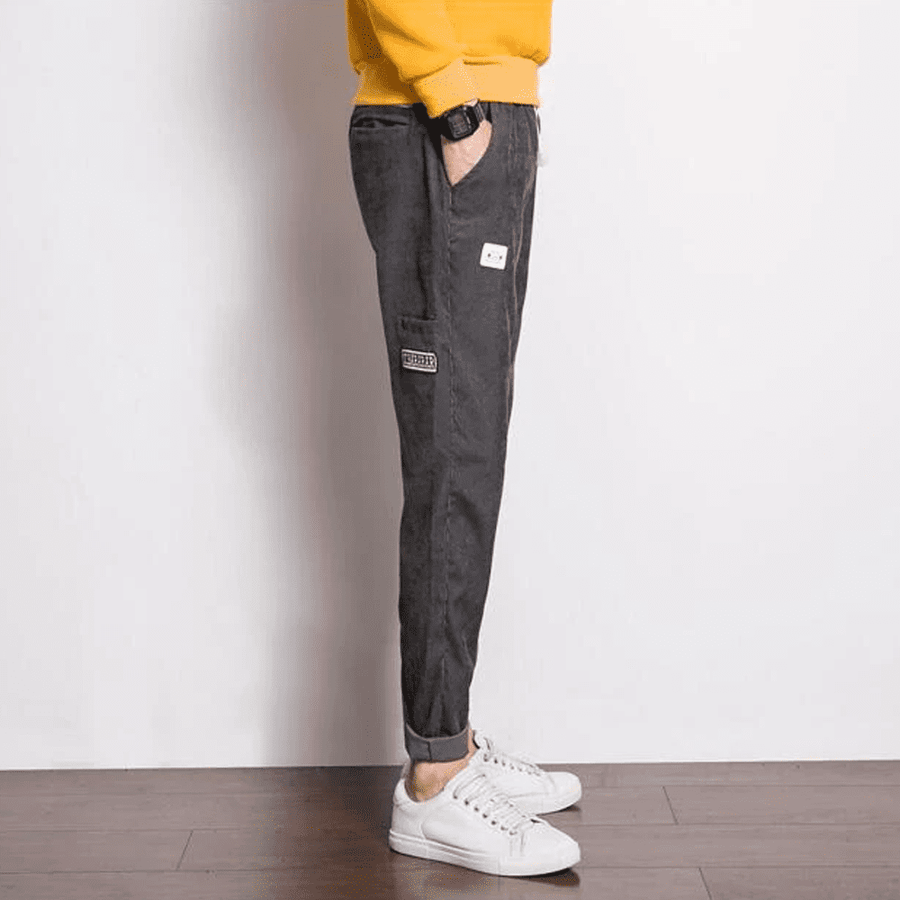 Corduroy Slim Fit Trouser - Umension