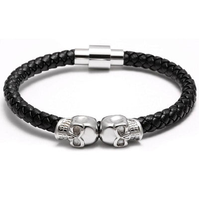 Craneo Luxo Nappa Leather Bracelet - Umension