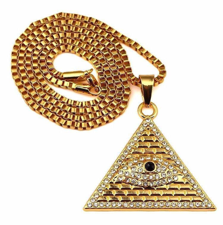 Eye Of Horus 18K Gold Plated Necklace - Umension