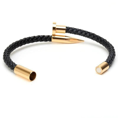 Genuine Leather Nail Bracelet - Umension