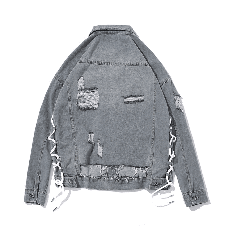 Gray Zone Denim Jacket - Umension