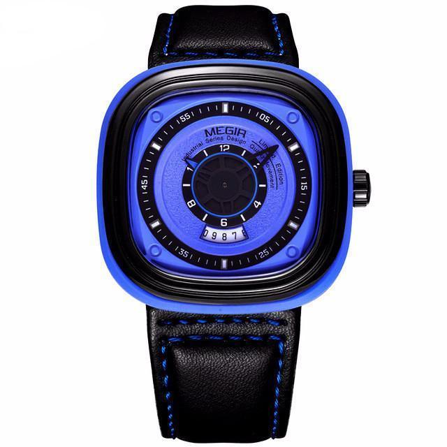 Hurrace XT Leather Strap Watch - Umension