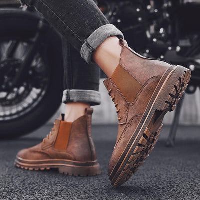 Leo Leather Boots - Umension