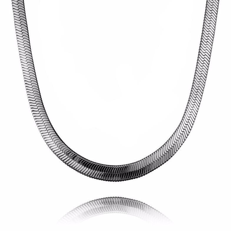 New Era 10MM 18K Gold Chain Necklace - Umension