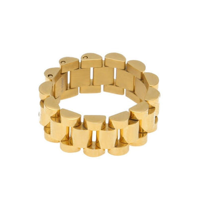 Rolley 24K Gold Plated Ring - Umension
