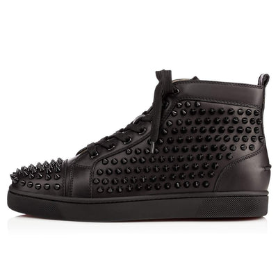 Spikes Exclusive High Top Leather Sneakers - Umension