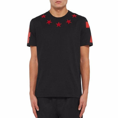 Stars Patched T-Shirt - Umension