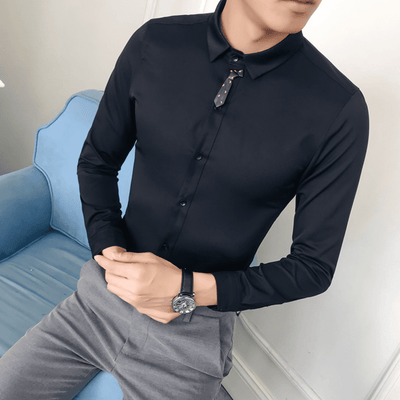 Tied Up Slim Fit Shirt - Umension