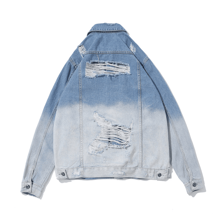 Washi Loose Denim Jacket - Umension
