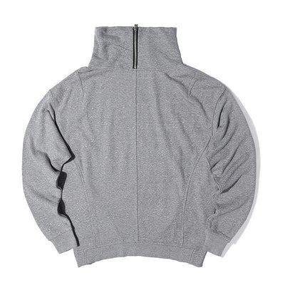 Zipped Neck Hoodie - Umension