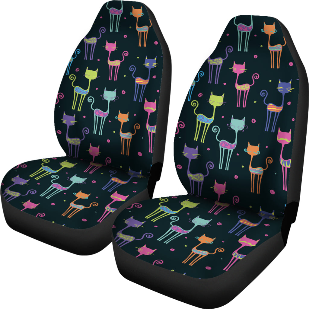 9r2653 Cat Seat : Cat art car seat covers