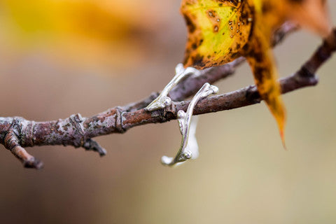 twig ring, autumn jewellery, fall jewelry, stockholm rose designs,