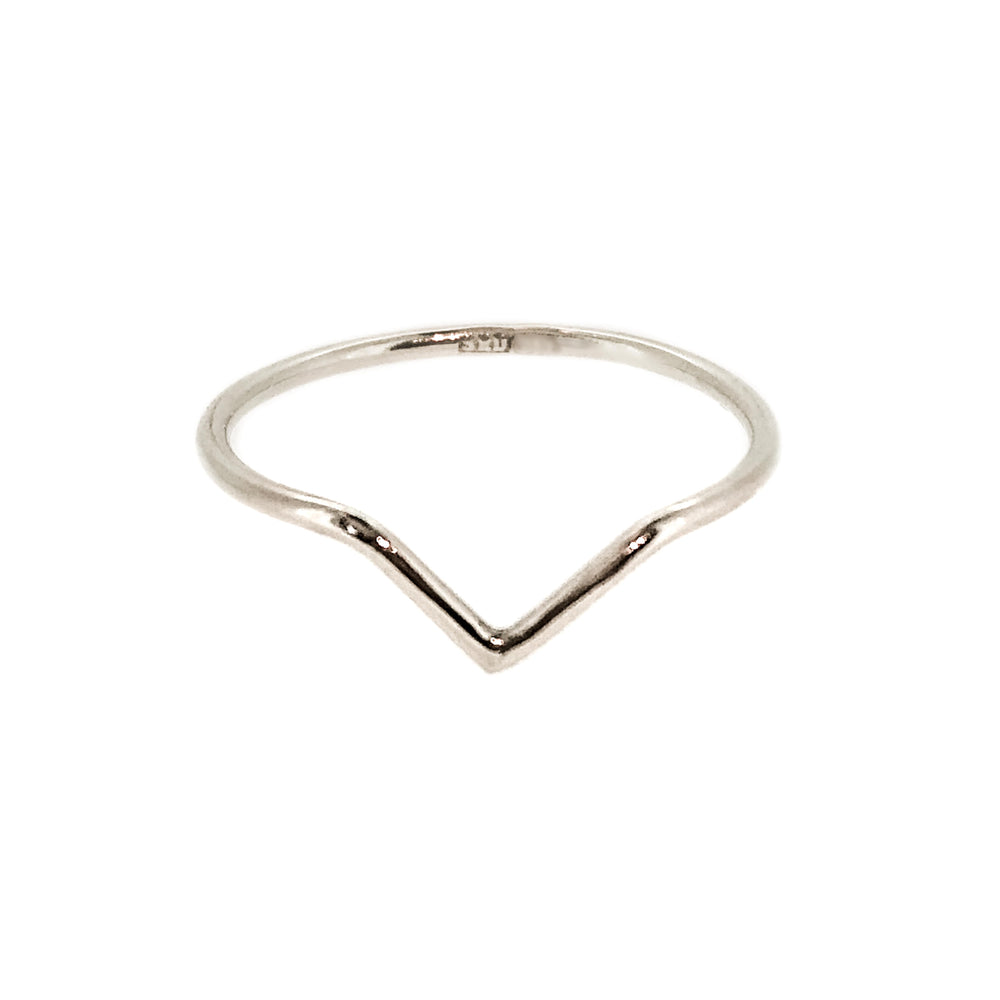 Chevron Ring | Sterling Silver
