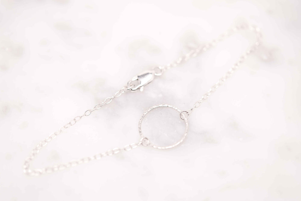 Dainty Circle Bracelet - Stockholm Rose Designs - Eco Friendly Jewellery