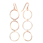 Triple Circle Earrings