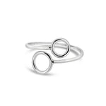 Circles Ring | 18ct White Gold