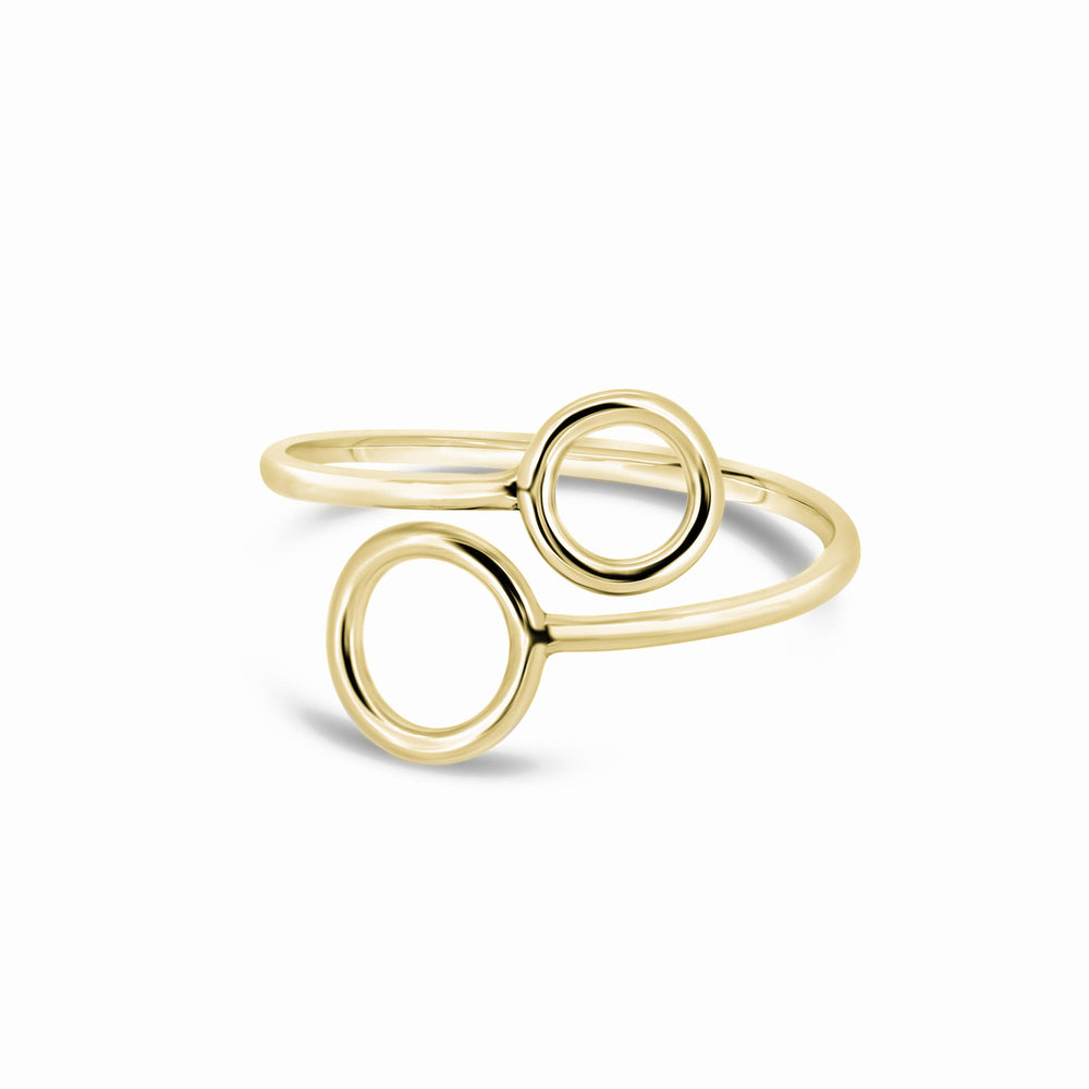 Circles Ring | 18ct Yellow Gold