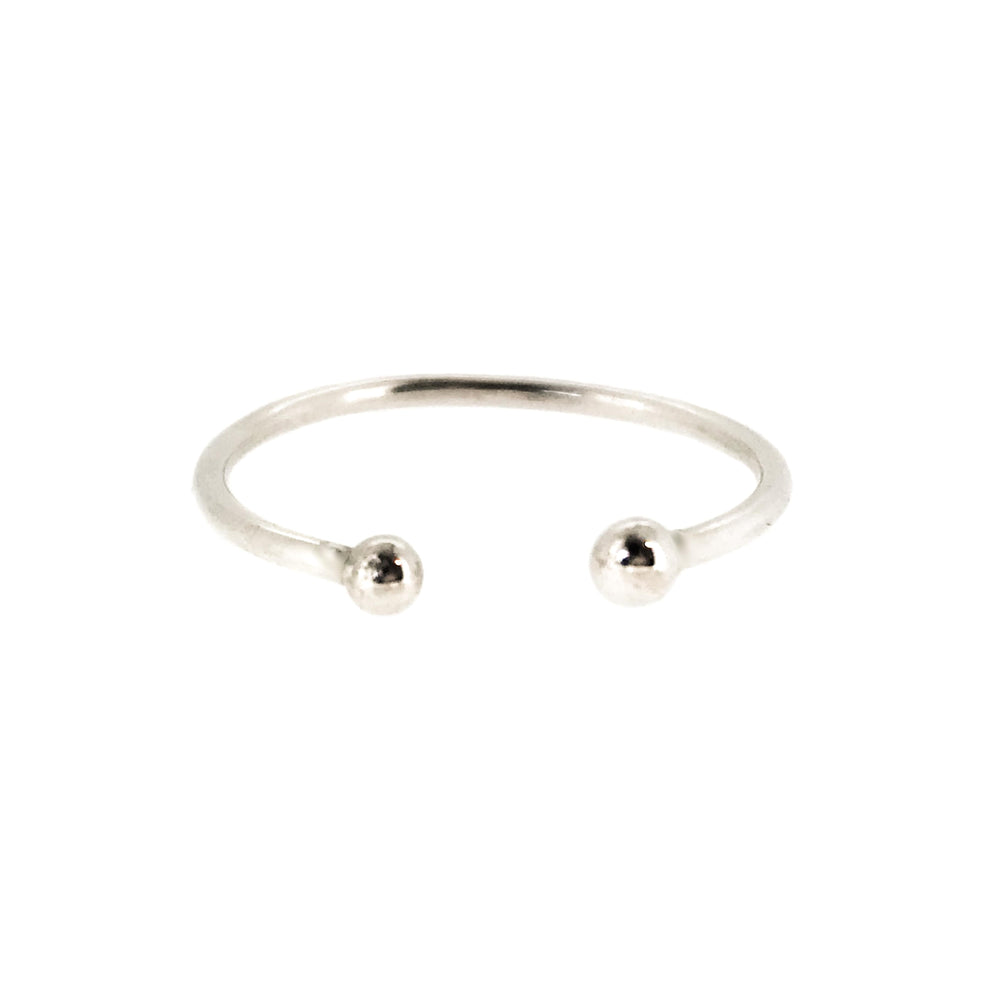 Dot Ring | Sterling Silver