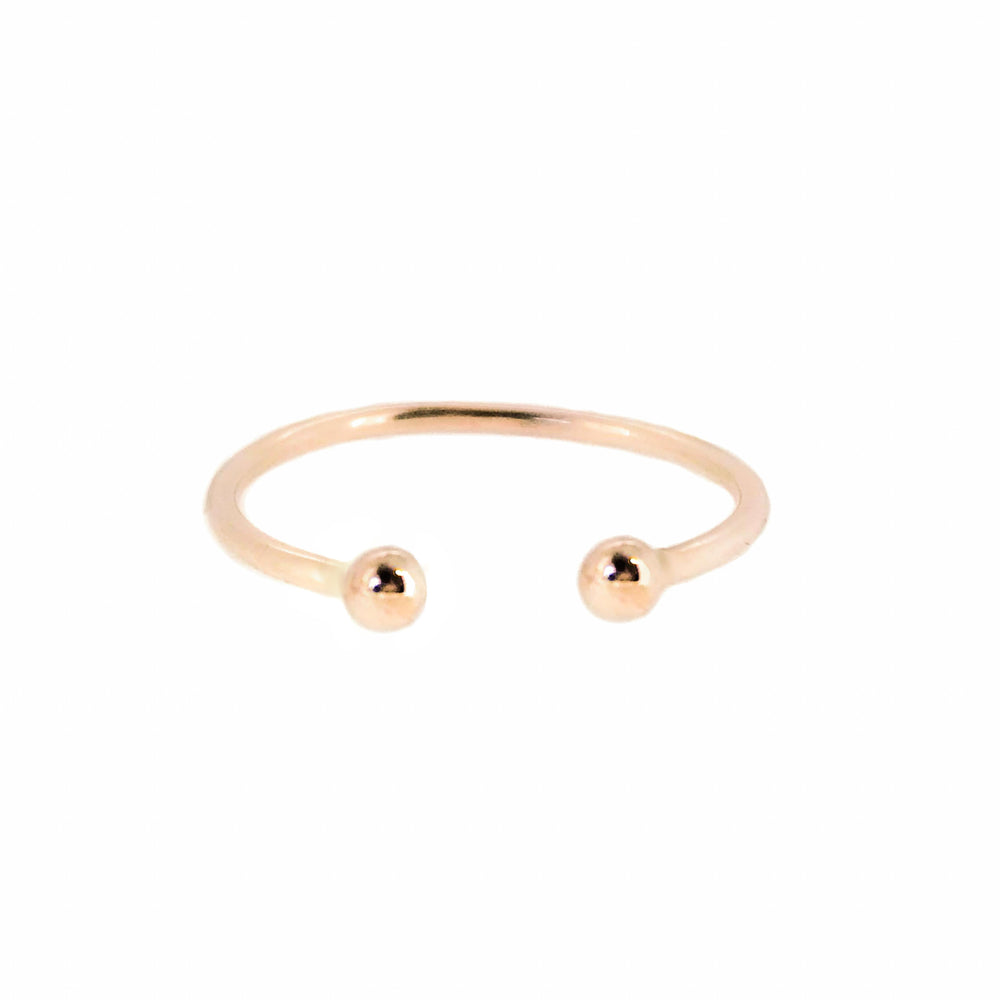 Dot Ring | 18ct Rose Gold