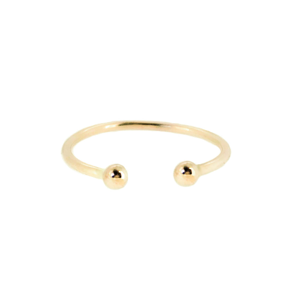 Dot Ring | 18ct Yellow Gold