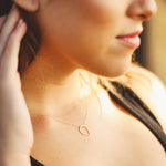 9ct yellow gold necklace eco friendly